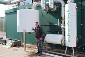 Biogas-Reinigung